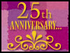 25th Wedding Anniversary! - Invitations ecards - Anniversary Greeting Cards