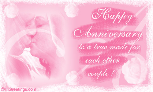 Send ecards to a couple anniversary love couple higreetings anniversary to a couple anniversary love couple m4hsunfo
