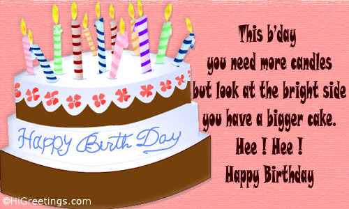 A Funny Message Filled Cute Birthday Ecard For Your Friend Send This Humor Fun