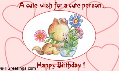 HiGreetings Birthday For Kids Cute Wishes