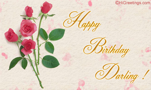 Present This Sweet Birthday Ecard As A Gift To Your Darling Spouse Send Romantic Wishes