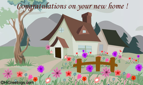 Send ecards new home housewarming congrats on your new home higreetings congratulations new home housewarming congrats on your new home m4hsunfo