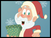 Naughty Santa! - Kids ecards - Christmas Greeting Cards