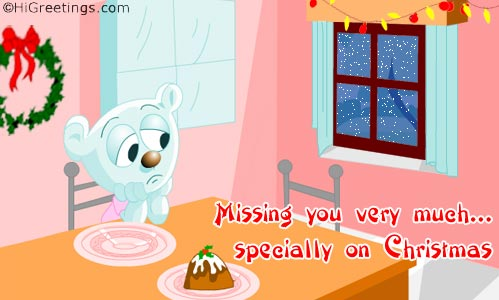 Send ecards miss you christmas miss you a cute cuddly miss you message for christmas send this miss you christmas miss you greeting card to your loved ones m4hsunfo