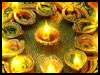 Diya filled Diwali! - Happy Diwali Wishes ecards - Diwali Greeting Cards