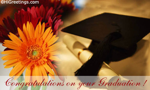 Happy graduation day time for a new beginning higreetings blog congratulations on your graduation m4hsunfo Images