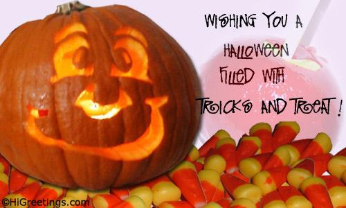 Send eCards: Happy Halloween Wishes  Happy Halloween!