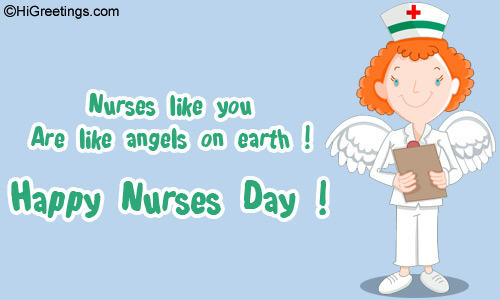 Send ecards nurses day nurses are angels make a nurse feel on top of the world on nurses day send this nurses day nurses are angels greeting card to your loved ones m4hsunfo