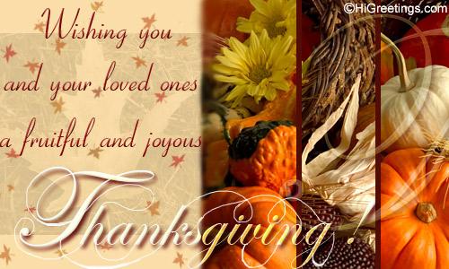 Send ecards family friends fruitful thanksgiving higreetings events thanksgiving family friends fruitful thanksgiving send to multiple recipients m4hsunfo