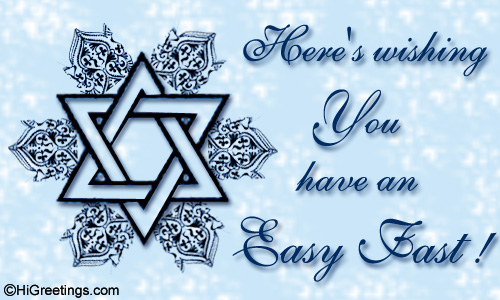 Send ecards yom kippur have an easy fast higreetings events yom kippur have an easy fast m4hsunfo