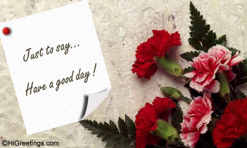 send ecards have a great day happy thoughts