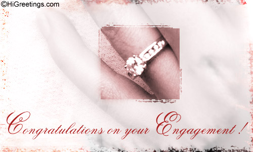 Send ecards engagement congrats on your engagement higreetings wedding engagement congrats on your engagement m4hsunfo