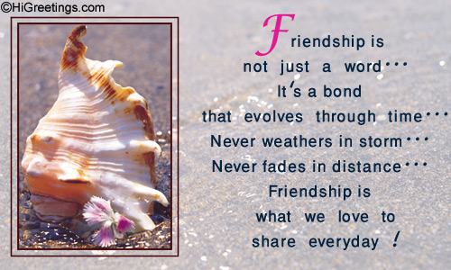 friendship poems. Friendship Poetry eCards,